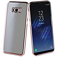 Muvit Coque de protection pour Samsung Galaxy S8 Or rose