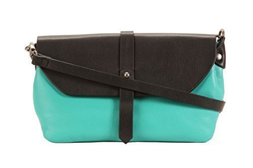 turquoise-green-and-brown-two-colour-small-cross-body-bag-by-hadaki