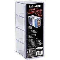 Amigo Spiel + Freizeit Ultra Pro 81163 - Card Box 4-Compartment Clear