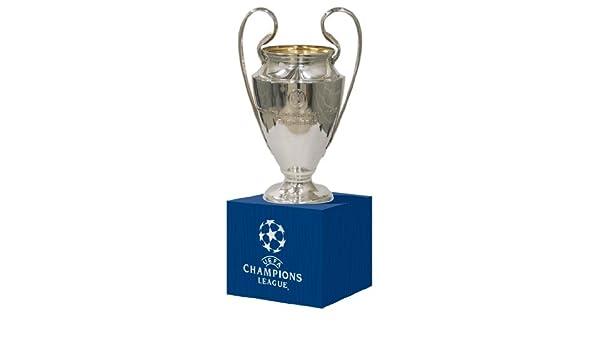 auf Holzpodest UEFA Europa League 45 mm Pokalreplika