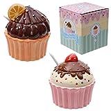 Zuccheriera a forma di cupcake 1 modello a scelta