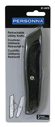 Personna Heavy Duty Einziehbar Universalmesser, 61-0479-TRAY (Knife Retractable Duty Heavy Utility)