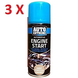 3x 200ml Auto Extreme Engine Start Spray Car Truck Petrol & Diesel Easy Start