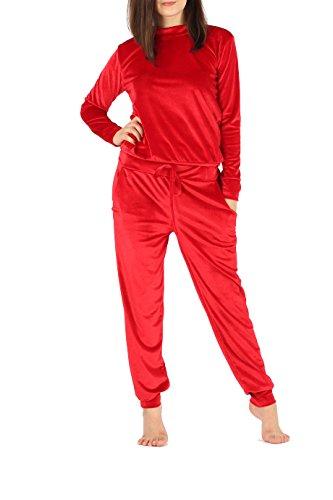 Get The Trend -  Tuta da ginnastica  - Donna Red