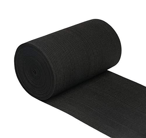 xw Craft Elastisches Band, 10,2 cm breit, 3 m, gestrickt, dehnbar, elastisch, für Näharbeiten -