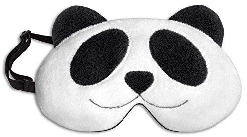 Leschi Schlafmaske | 36903 | Der Panda Lien (Schlafmaske zum Wärmen und Kühlen) Farbe: Mitternacht / Mitternacht