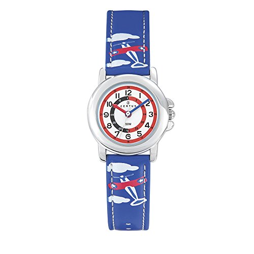 CERTUS JUNIOR Womens Analogue Quartz Watch with PU Strap 647595