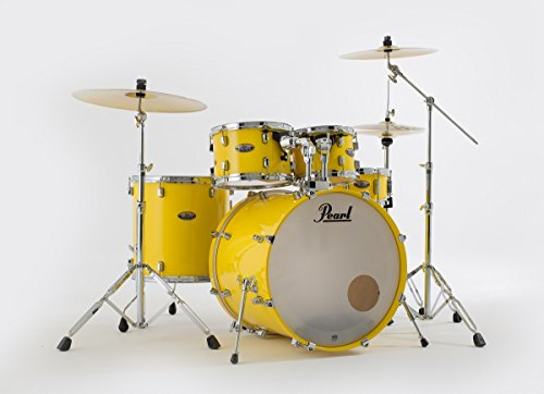 Pearl Decade Maple estándar Drum Set Solid Yellow Limited Edition