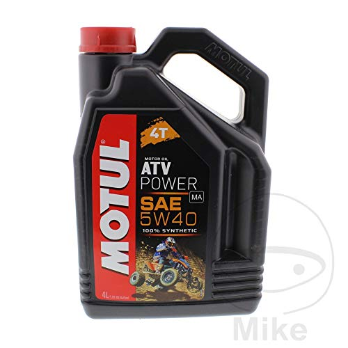 Motul 105898 ATV Power 5W40 4T, 4 Liter -