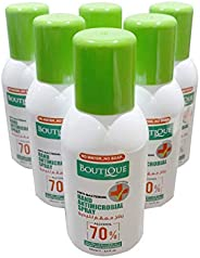 Boutique Hand Spray Sanitizer Anti Bacterial, 6PCs BUNDLE (100ML*6), by MINI SPECTRA