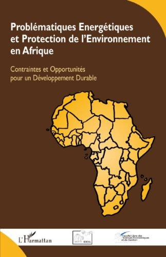 Problématiques énergétiques et protection de l'environnement en Afrique : Contraintes et opportunités pour un développement durable