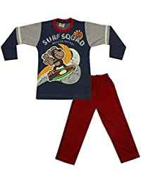 Kid's Care Printed Boys' Cotton Clothing Set for Kids(5016)