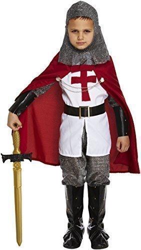 7 Stück Jungen St Georges Tag Ritter mittelalterlich -