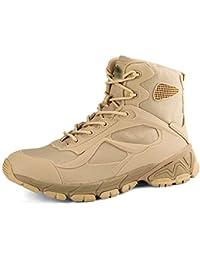 QIKAI Zapatos Militares Botas Chinas Resistentes A Puñaladas Para Correr 07 Botas Transpirables Botas Desérticas Botas