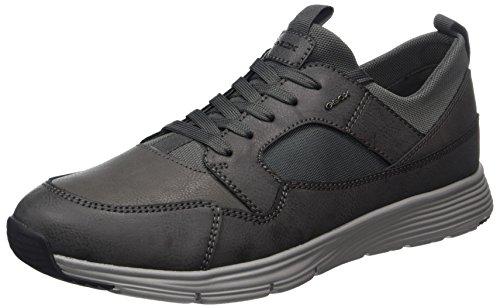 Geox U Snapish A, Sneakers Basses Homme, Bleu