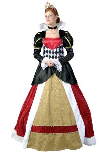 Plus Size Elite Königin der Herzen Kostüm - 1X
