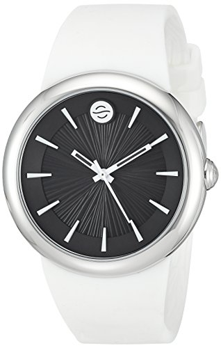 Philip Stein ' Quartz Stainless Steel and Silicone Automatic Watch, Color:White (Model: F36S-LCB-W)