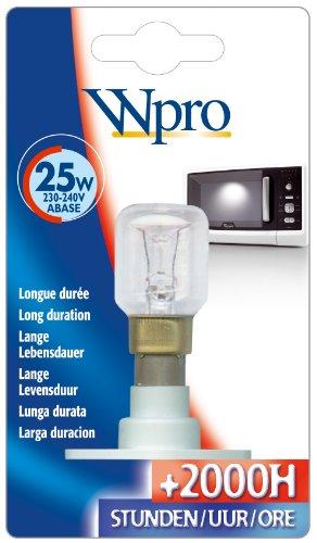 Wpro LMO006 Ampoule Micro Onde ABase T25 25 W 220 V
