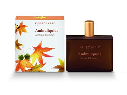 L'Erbolario Ambraliquida Eau de Parfum, 1er Pack (1 x 50 ml)