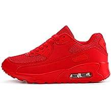 YAYADI Zapatos para Hombres Zapatillas Rojas Diseñador De Calzado Casual Luxury Instructores Slip-On Transpirable
