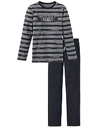 Schiesser Jungen Zweiteiliger Schlafanzug Anzug Lang