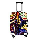 YiiJee Housse Imprimé Couverture Protecteur Valise Élastique Housse De Valise Anti-rayures Luggage Cover Comme Image10 L