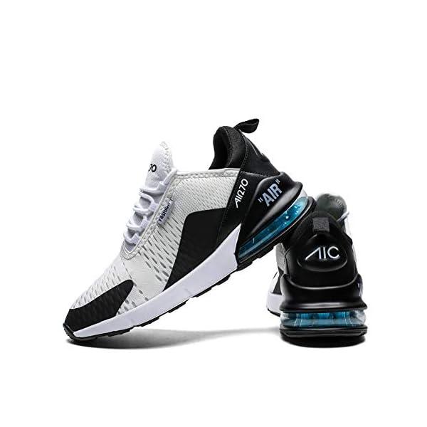 Scarpe Running Sneakers Uomo Donna Sport Scarpe da Ginnastica Fitness Respirabile Mesh Corsa Leggero Casual all'Aperto 3 spesavip