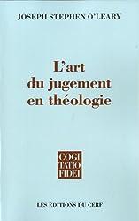 L'art du jugement en théologie