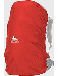 Gregory - Funda impermeable para la lluvia, rojo, 45 - 55 Liter