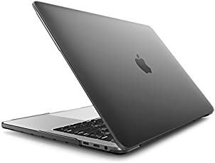 """Case for MacBook Pro 15, i-Blason Smooth Matte Frosted Hard Shell Cover for Apple MacBook Pro 15"""" inch A1990/A1707 (Frost Black)"""