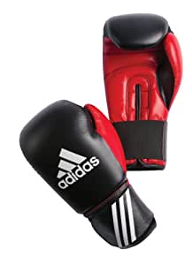 adidas Boxhandschuh Response, black-red, 8 oz, ADIBT01-8