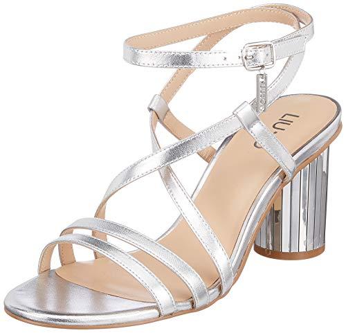 Leath Sandal Liu Ouvert Jo Doroty 0053240 Met FemmeArgentésilver Eu 05 Shoes SlvBout myw80ONvn