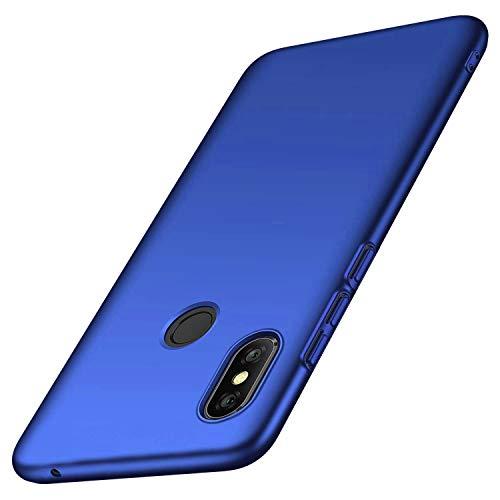 Toppix für Xiaomi Mi Mix 3 Hülle, Handyhülle PC Plastik (Slider lässt Sich herunterschieben) Hart Cover Slim Matt dünn-schlank-Leichte Schutzhülle für Xiaomi Mi Mix 3 (Blau)