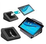 reboon Tablet Kissen für das Pearl Touchlet XA100 - ideale iPad Halterung, Tablet Halter, eBook-Reader Halter für Bett & Couch