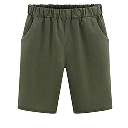 oße Shorts locker und Dicke, große, schmale Shorts (M-6XL) Army Green XL ()