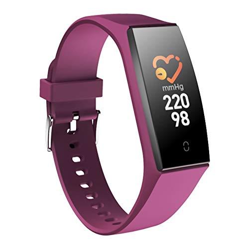 Lacyie (5 Couleurs) Montre Connectée Tension Artérielle & Cardiofréquencemètre Bracelet Connecté Podometre Smartwatch Cardio Etanche IP68 Femme Homme,Fitness Tracker d'Activité iOS & Android