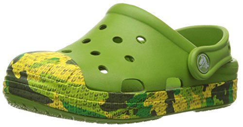 Crocs Crocs Bump It Camo Clog K Boys Slip on [Shoes]_203139-373-C10