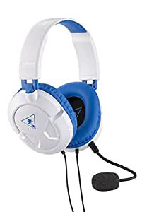 Turtle Beach Recon 60P Cuffie di Gioco, White - PS4 Pro/PS4