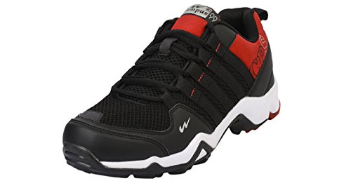 Campus TRIGGEER ( Model 3G-431 ) Black and Red Color Sport Running Shoes Size -9