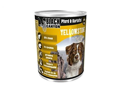 Black Canyon Yellowstone Pferd & Kartoffel, 6er Pack (6 x 820 g)