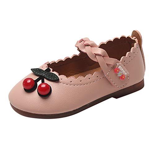 Baby Mädchen Prinzessin Schuhe Weiß Sandalen Kirsche Krabbelschuhe Kleinkind Kind Bogen Shoes Loafers Kinder Hausschuhe Abend Party Einzelne Schuhe Freizeitschuhe Laufschuhe Japan China White Rose