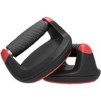 JATCH Dreh Push Up Bars Drehmechanismus Swivel Pushup Steht Workout Home Gym Griffe Verringerung Handgelenk Belastung Für