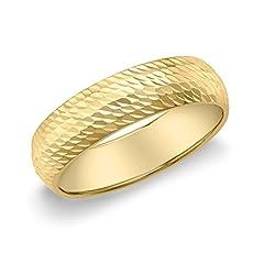 Idea Regalo - Carissima Gold Anello da Donna in Oro Giallo 9K, Misura 13