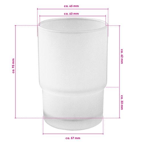 bremermann® Ersatzglas Becherhalter für PIAZZA & LUCENTE