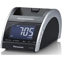 Panasonic RC-DC1EG-K - Radiodespertador para iPod/iPhone