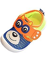 sandalias niños verano baratas Switchali infantil casual zapatos bebe niña primeros pasos con suela blanda zapatos netos moda Sandalias de vestir niña playa Zapatillas