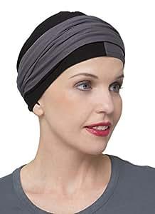 Bonnet chimio noir et gris IDUNA Ellen-wille