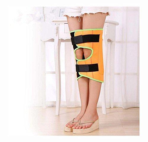 O-Typ Beine und X-förmige Bein Korrektur Band / Bein-Strecker für Erwachsene und Kinder - Um die Beinkraft einstellen The Walking Haltung zu verbessern , orange , m - Zehen Strecker