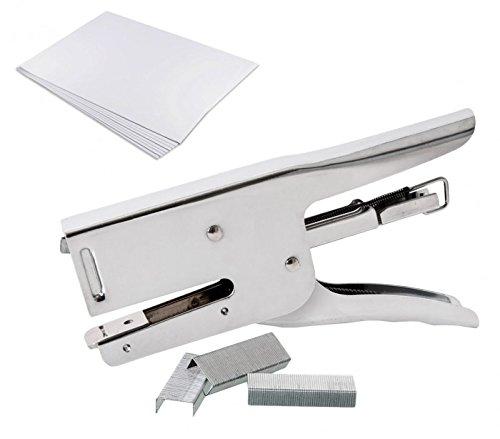 748796 Spillatrice o cucitrice a punto chiuso con punti metallici inclusi 24/6 MEDIA WAVE store