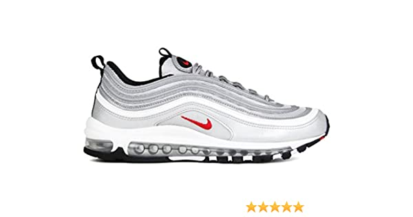 2nike scarpa nc w air max 97 og qs silver metallic